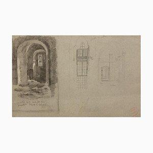 Workshop of An Antique Dealer, 19th-Century, Pencil On Paper