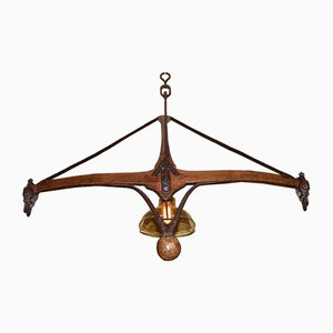 Antique Flail Scale