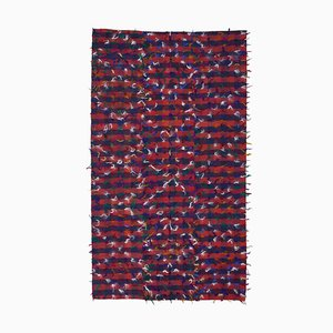 Red Oriental Kilim Carpet