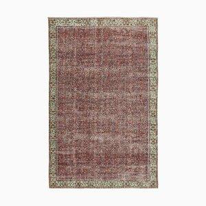 Red Turkish Area Carpet