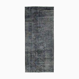Grey Turkish Over Dyed Runner Carpet