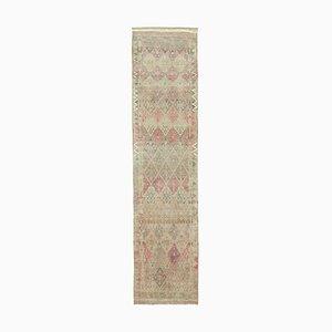 Beige Boho Runner Carpet
