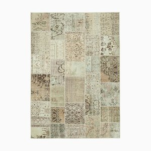 Beige Patchwork Carpet