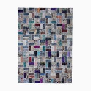 Multicolored Patchwork Carpet