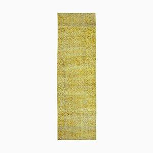 Yellow Overdyed Runner Carpet