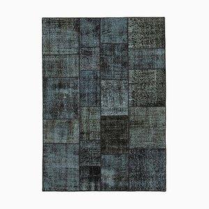 Black Patchwork Carpet