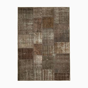 Brown Patchwork Carpet