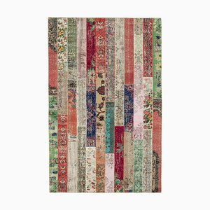 Multicolored Modern Patchwork Carpet