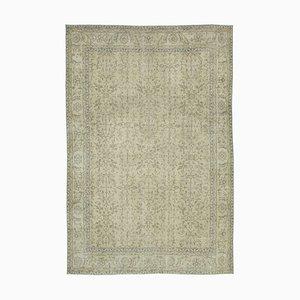 Beige Turkish Vintage Area Carpet