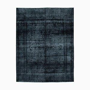 Black Overdyed Large Area Carpet