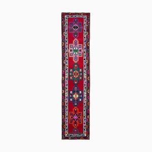 Red Boho Runner Carpet