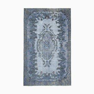 Blue Overdyed Carpet