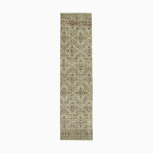 Beige Overdyed Runner Carpet