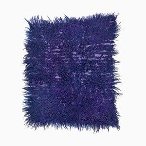 Vintage Purple Tulu Carpet