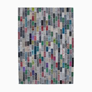 Multi-Colored Patchwork Carpet
