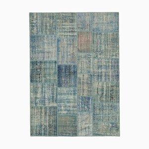 Blue Patchwork Carpet