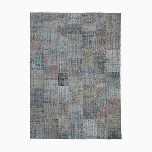 Grey Patchwork Carpet