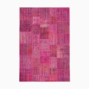 Pink Patchwork Carpet