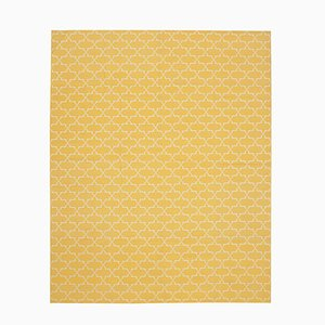 Yellow Dhurrie Carpet