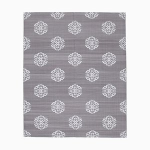 Grey Dhurrie Carpet