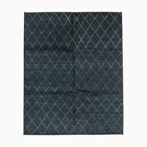 Vintage Blue Moroccan Rug