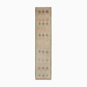 Vintage Beige Boho Runner Rugs