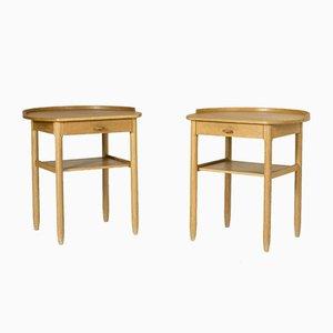 Side Tables by Sven Engström & Gunnar Myrstrand, Set of 2