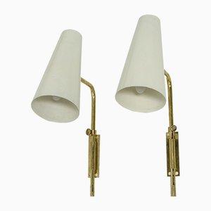 Wandlampen von Paavo Tynell, 2er Set