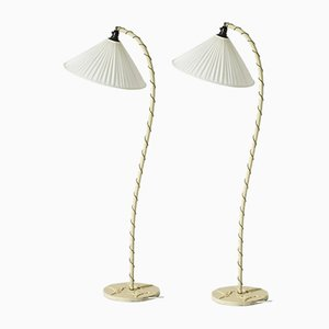 Swedish Grace Floor Lamps, Set of 2