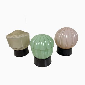 Ceiling Lamps from Thabur, 1920s, Set of 3