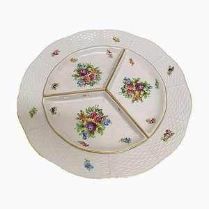Mid-Century Porcelain Appetizer Plate from Herend