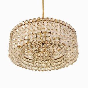Lámpara de araña de cristal de J.L. Lobmeyr