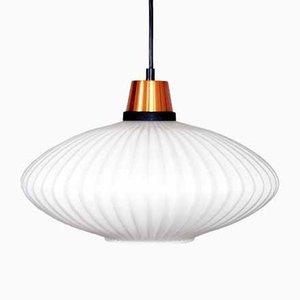 Scandinavian Suspension Lamp by Uno & Östen Kristiansson for Luxus, 1970s