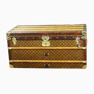 Antique Monogrammed Trunk from Louis Vuitton