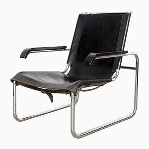Sedia cantilever Bauhaus S35 di Marcel Breuer per Thonet, anni '20