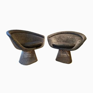 Mid-Century Lounge Chairs by Warren Platner for Knoll Inc. / Knoll International, Set of 2