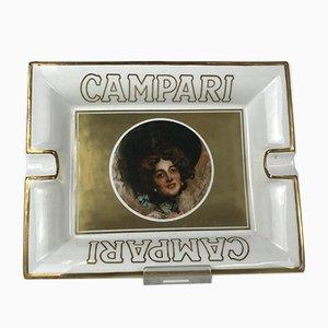 Italian Advertising Campari Collection Ashtray, 1980s