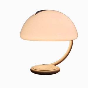 Lámpara de escritorio Serpente Tavolo 599 de Elio Martinelli para Martinelli Luce, 1965