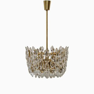 Crystal Chandelier from Bakalowits & Söhne, 1950s