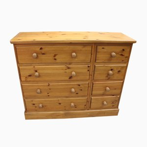 Country Pine Merchant's Chest Drawers, 1960s