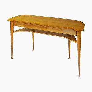 Konsolentisch aus Holz von Produzione Italiana, 1950er