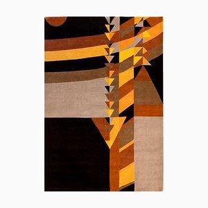 Tapis May Triangles par Frank Lloyd Wright, 1950s