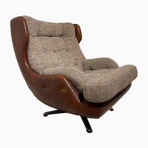 Drehbarer Dänischer Vintage Egg Chair, 1970er