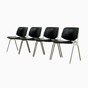 DSC 108 Dining Chairs by Giancarlo Piretti for Castelli / Anonima Castelli, 1970s, Set of 4