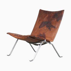 PK22 Lounge Chair by Poul Kjaerholm for Kold Christensen, Denmark, 1960s