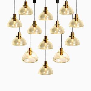 Large Pendant Light by Herbert Proft for Limburg Glashütte, 1960s