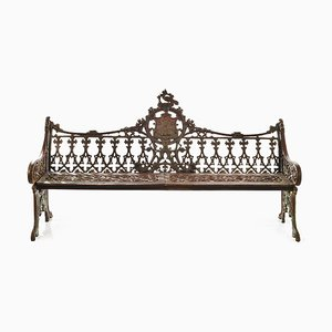Cast Iron Sculpture Bench