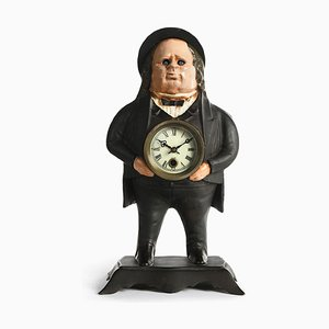 John Bull Flashing Clock by Bradley & Hubbard