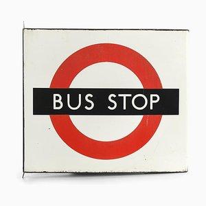Englisch Bus Stop Schild