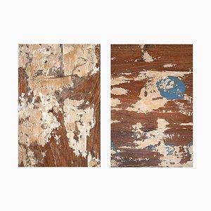 Klappbare Holzwand mit 3 Blättern